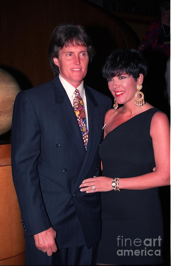 Bruce And Kris Jenner - 1993 Photograph