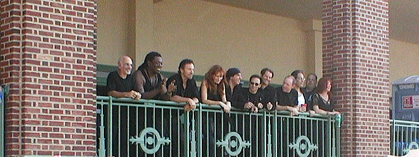 Bruce And The E Street Band In Ap Photograph