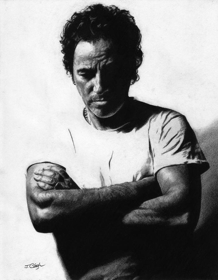 Bruce Springsteen  Drawing