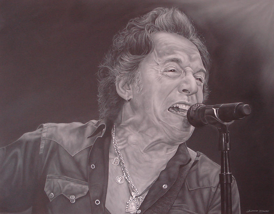 Bruce Springsteen V Painting
