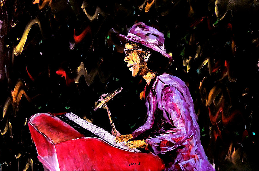 Bruno Mars Painting - Bruno Mars  by Mark Moore