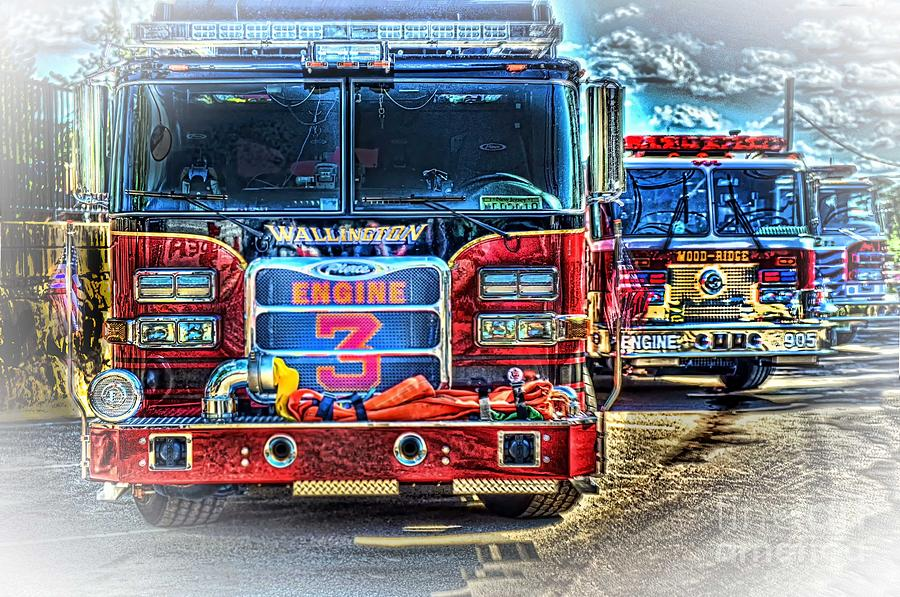 Fire Trucks Photograph - Brute Strength by Arnie Goldstein