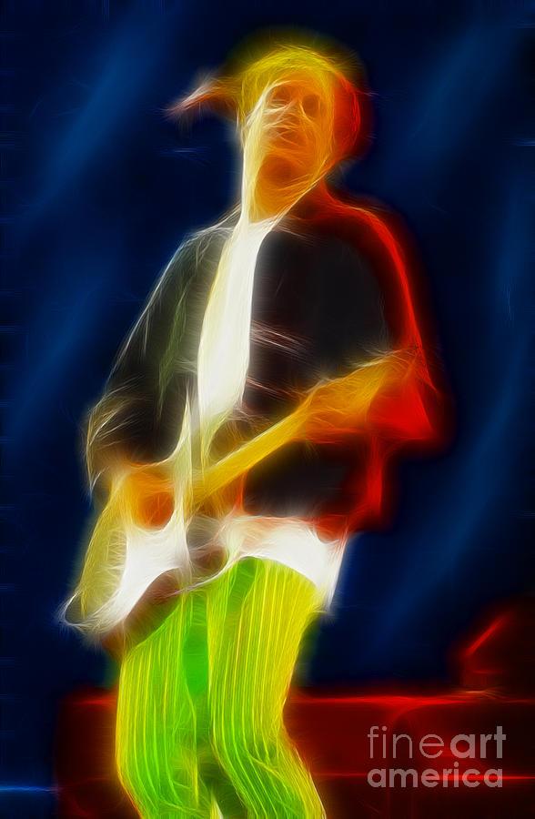 Bryan Adams-sofar-94-gc16a-fractal Photograph
