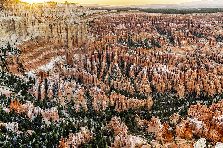 Bryce Point Sunset Photograph