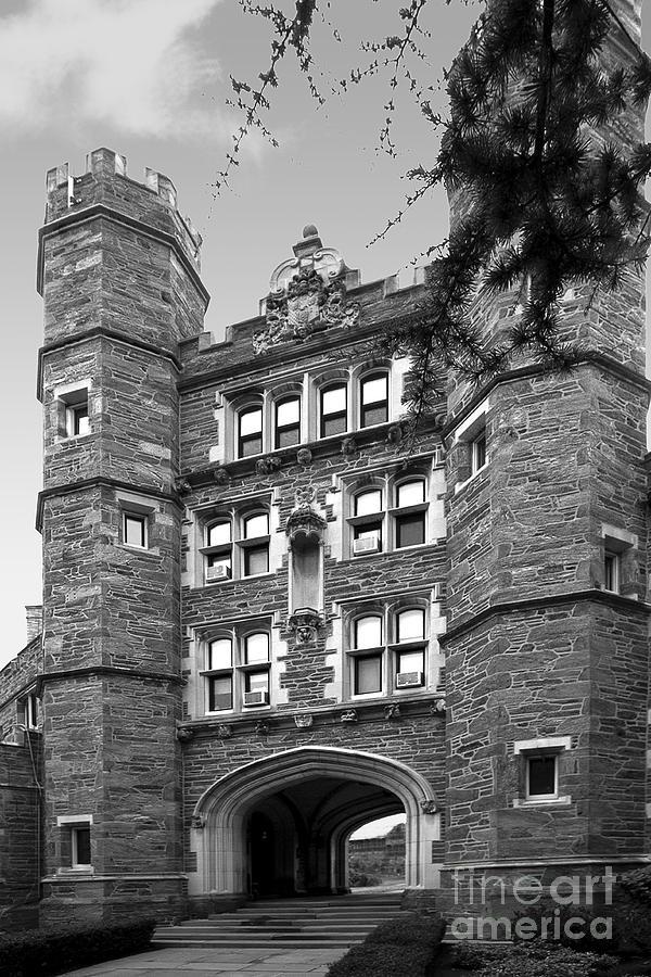 Bryn Mawr College Rockefeller Hall Photograph