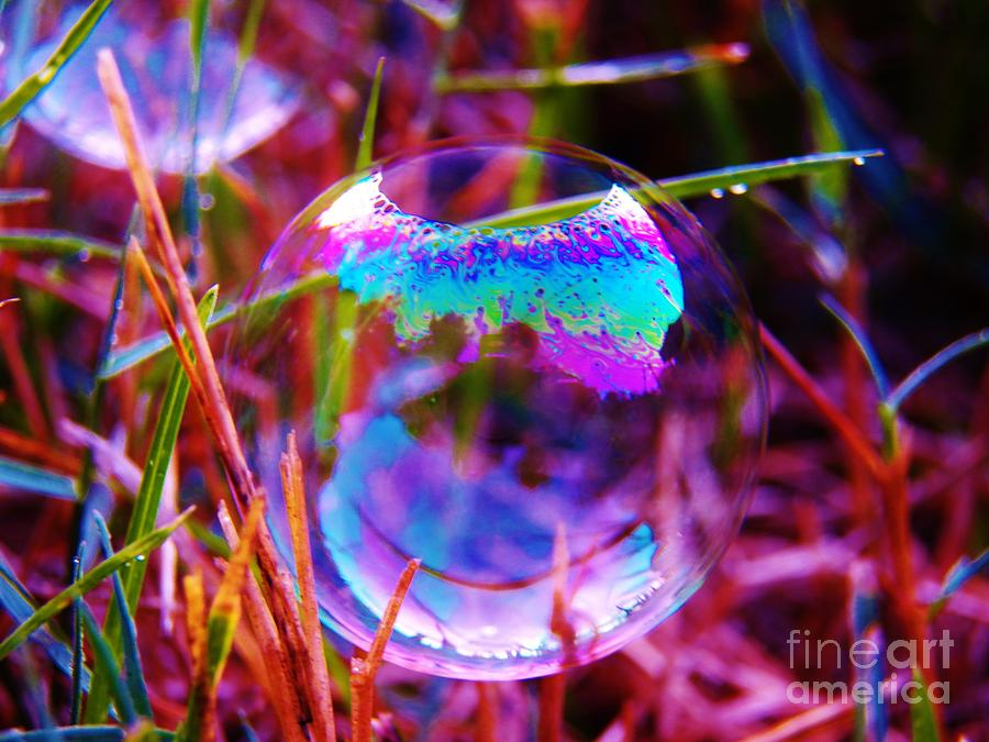 Bubble Illusions 2 Photograph  - Bubble Illusions 2 Fine Art Print