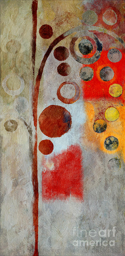 ubble Tree Tree Painting - Bubble Tree - Ls55 by Variance Collections