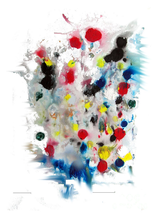 Bubblegumed Painting  - Bubblegumed Fine Art Print