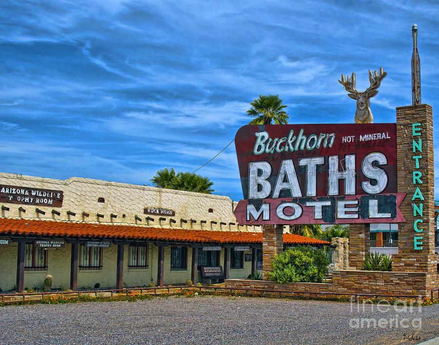 Buckhorn Baths Motel Photograph
