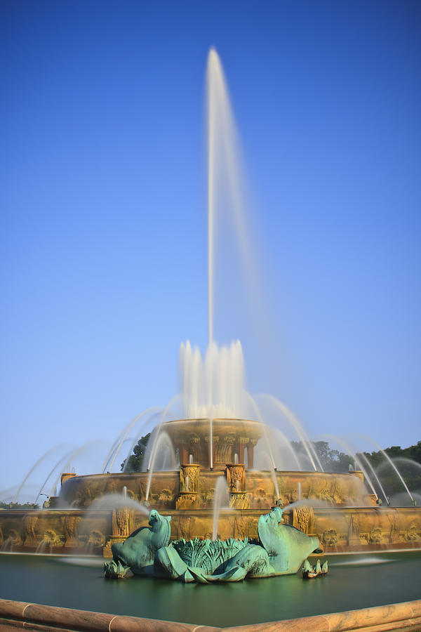 Buckingham Fountain Photograph  - Buckingham Fountain Fine Art Print