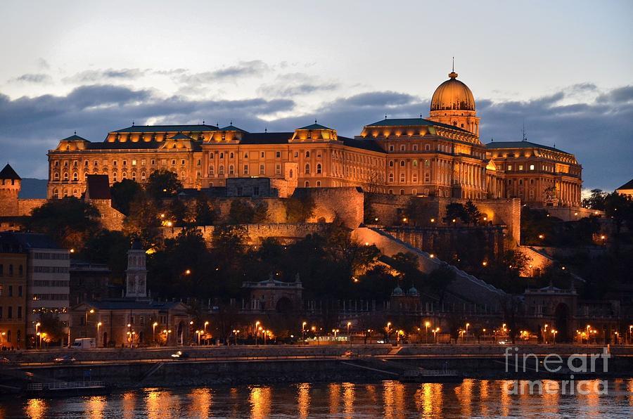Budapest Photograph - Budapest Palace At Night Hungary by Imran Ahmed
