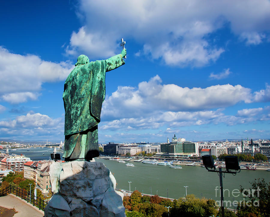Budapest. View From Gellert Hill Photograph  - Budapest. View From Gellert Hill Fine Art Print