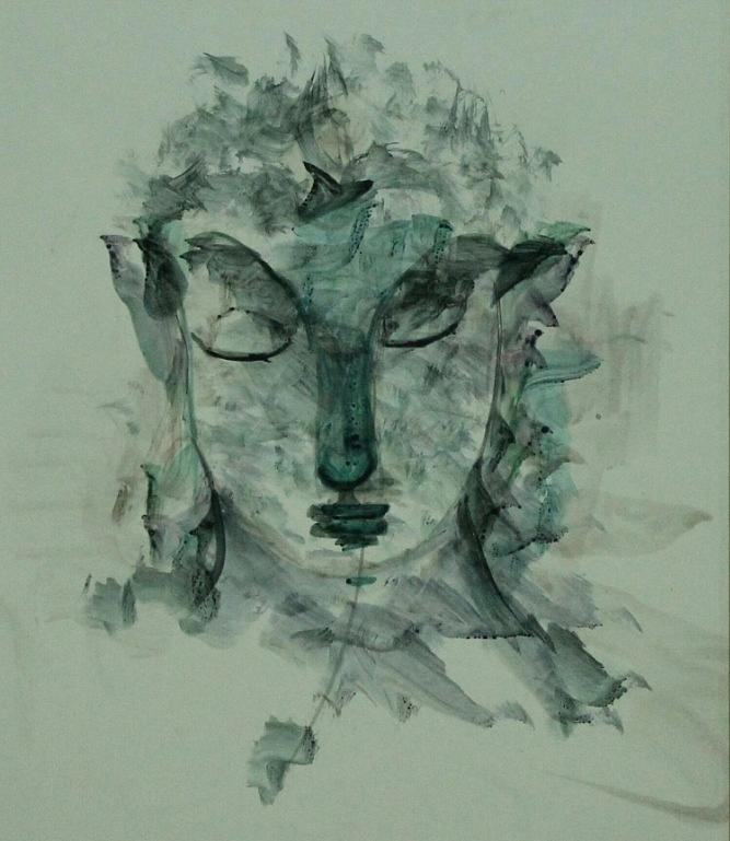 Paintings Painting - Buddha 774 by Sir