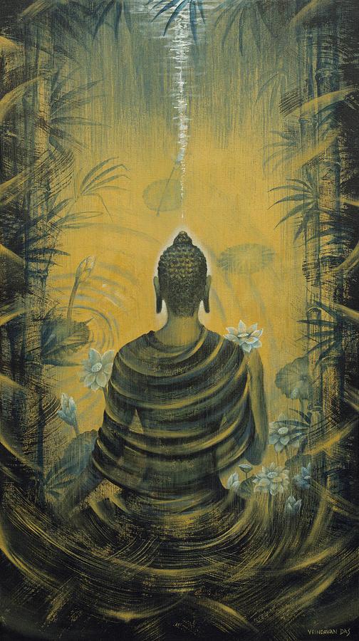 Buddha. Presence Painting