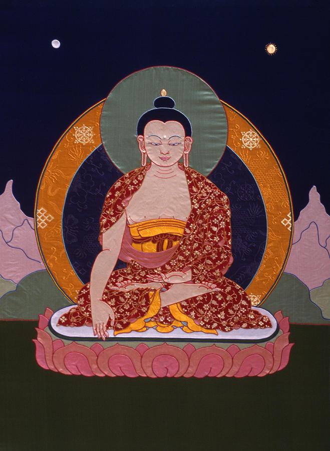 Buddha Shakyamuni Tapestry - Textile