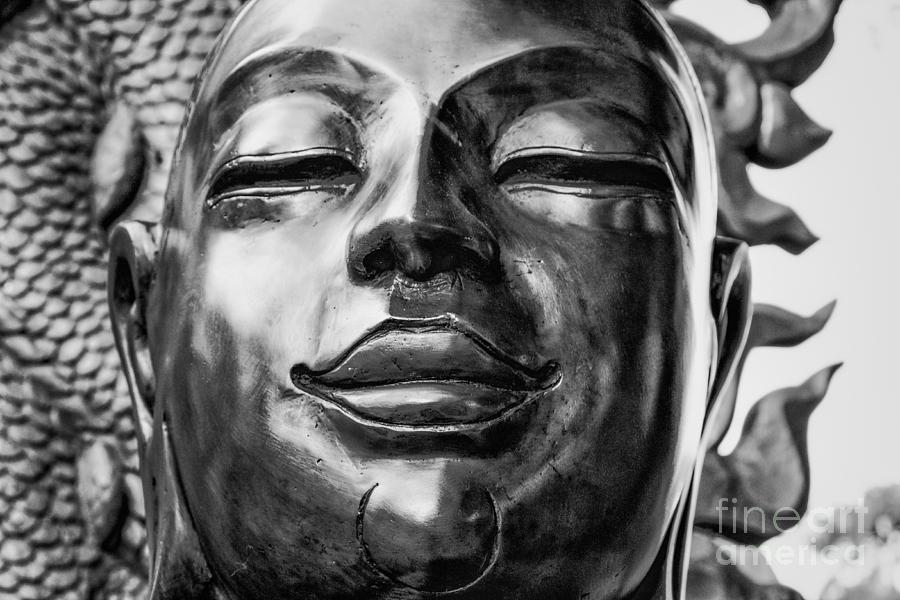 Buddha Photograph - Buddha Smile by Dean Harte