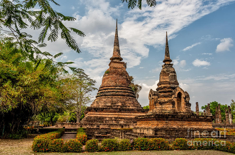 Buddhist Park Photograph