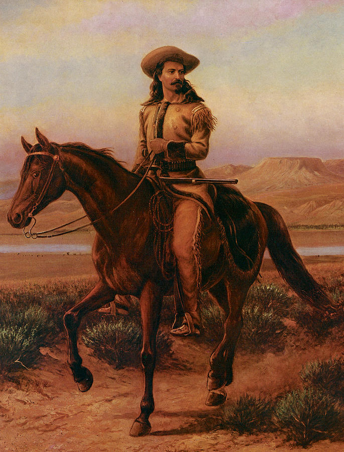 Buffalo Bill On Charlie Painting