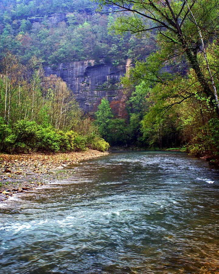 Buffalo River Downstream Photograph