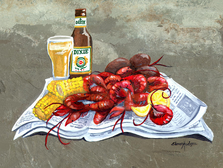 Bugs And Beer Painting