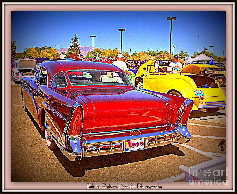 Buick Photograph - Buick Classic by Bobbee Rickard