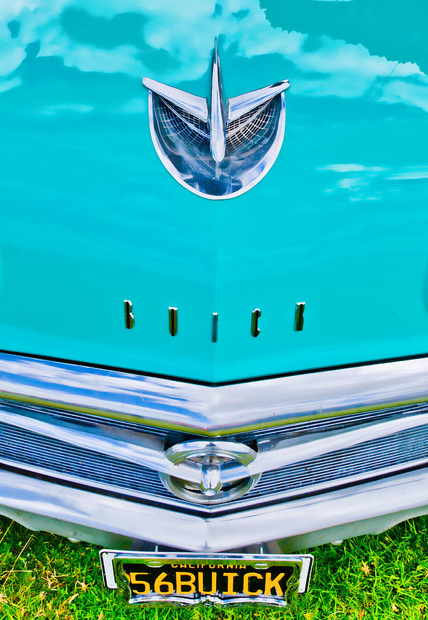 Buick Grill Photograph