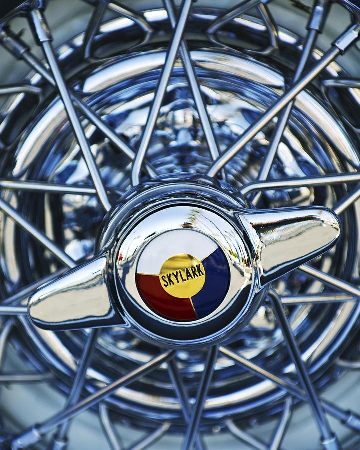 Buick Skylark Wheel Photograph