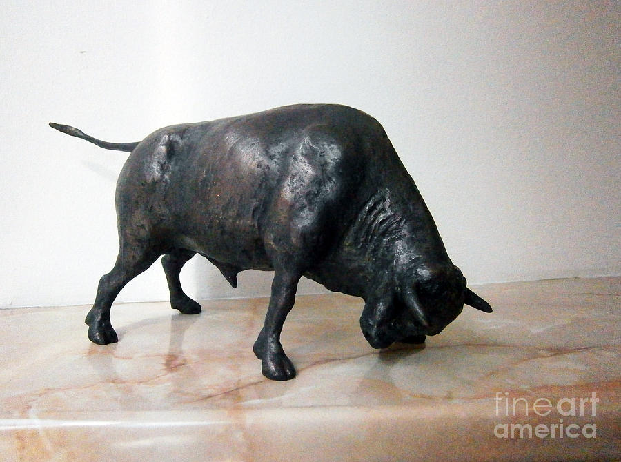 Bull Sculpture  - Bull Fine Art Print