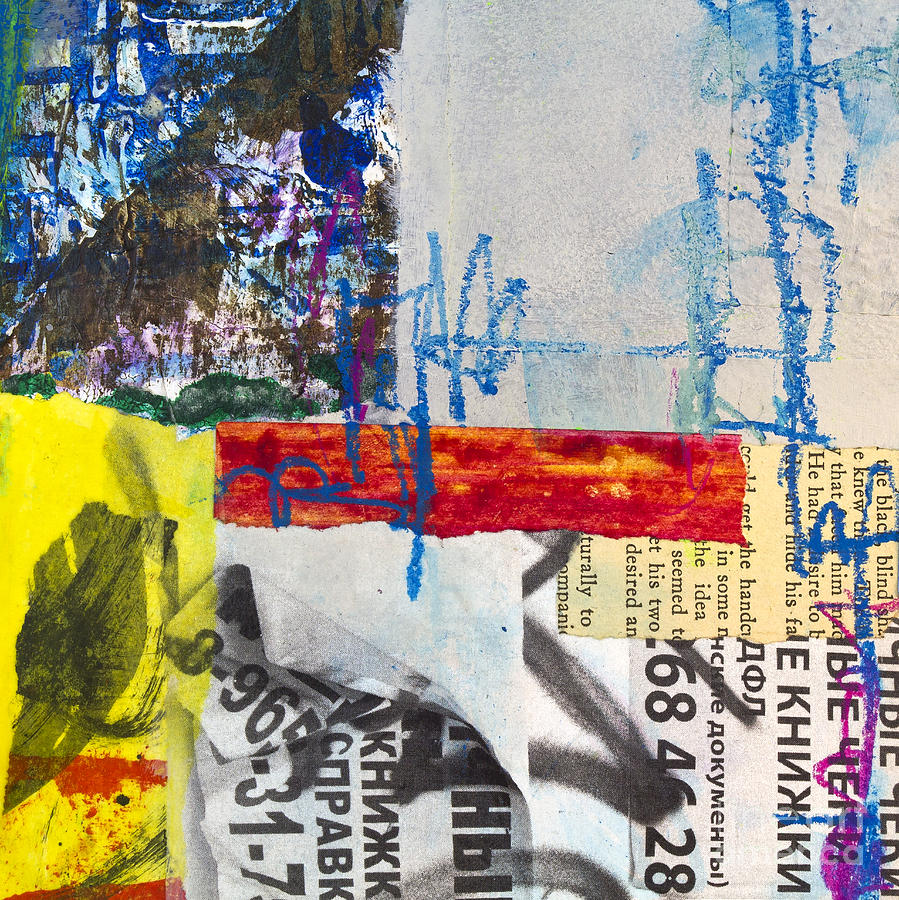 Bulletin Board Mixed Media  - Bulletin Board Fine Art Print