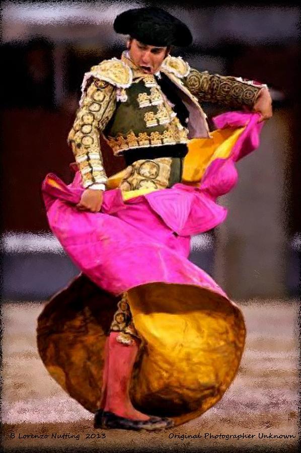 Bullfighter Painting - Bullfighter Dance by Bruce Nutting