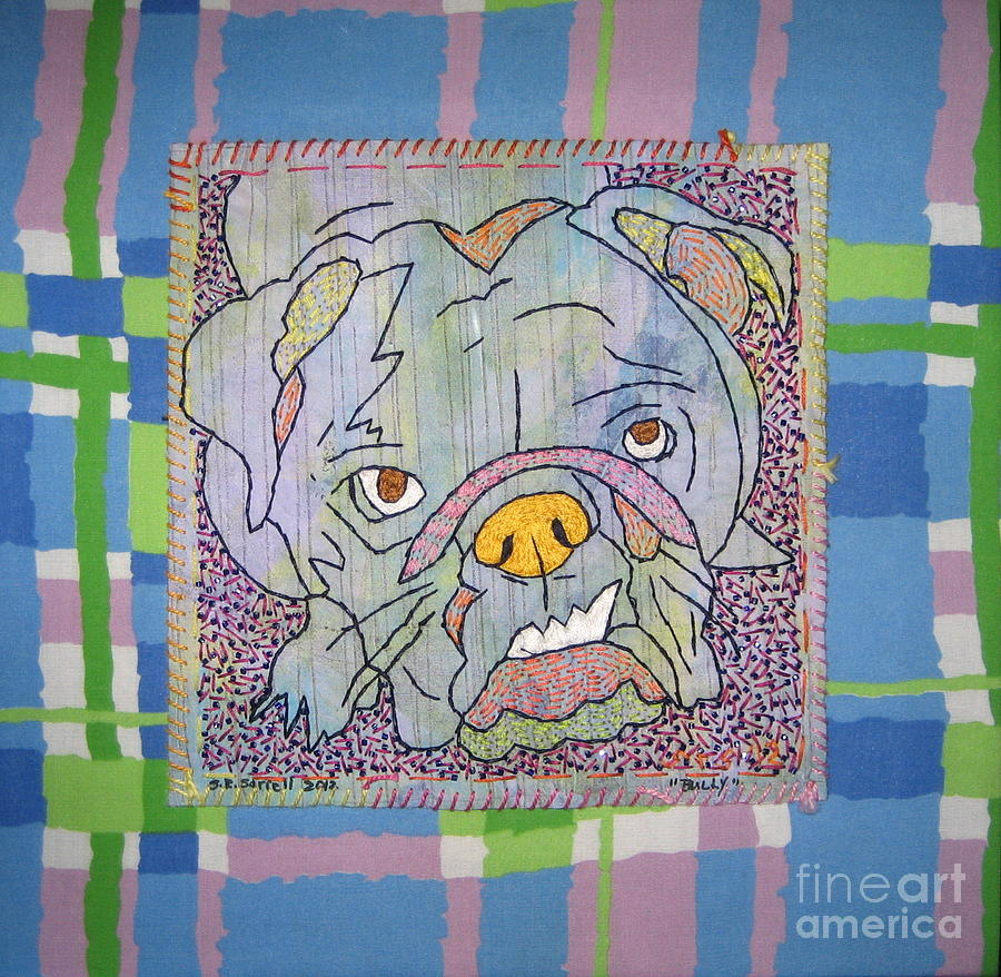 Bully Tapestry - Textile