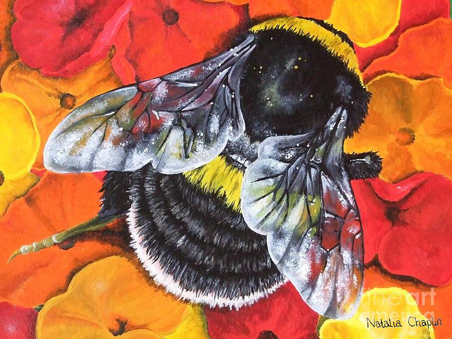 Bumblebee is a painting by Natalia Chaplin which was uploaded on ...