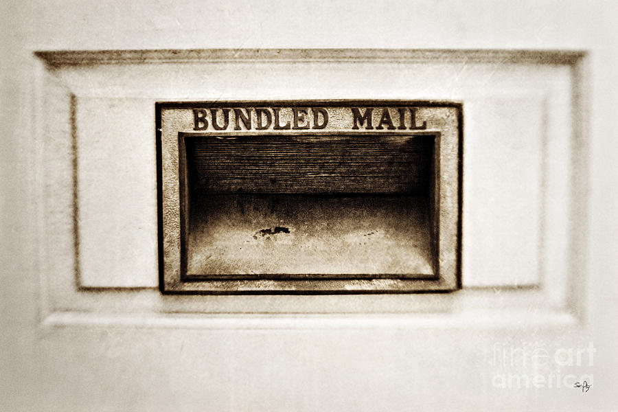 Bundled Mail Photograph  - Bundled Mail Fine Art Print