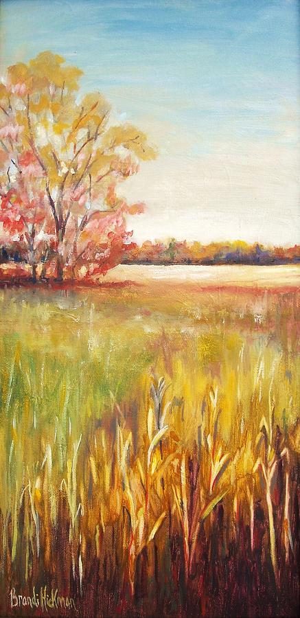 Bur Oak Painting