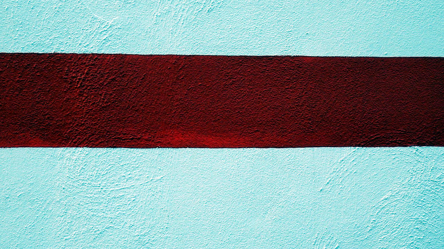 Burgundy Stripe Photograph