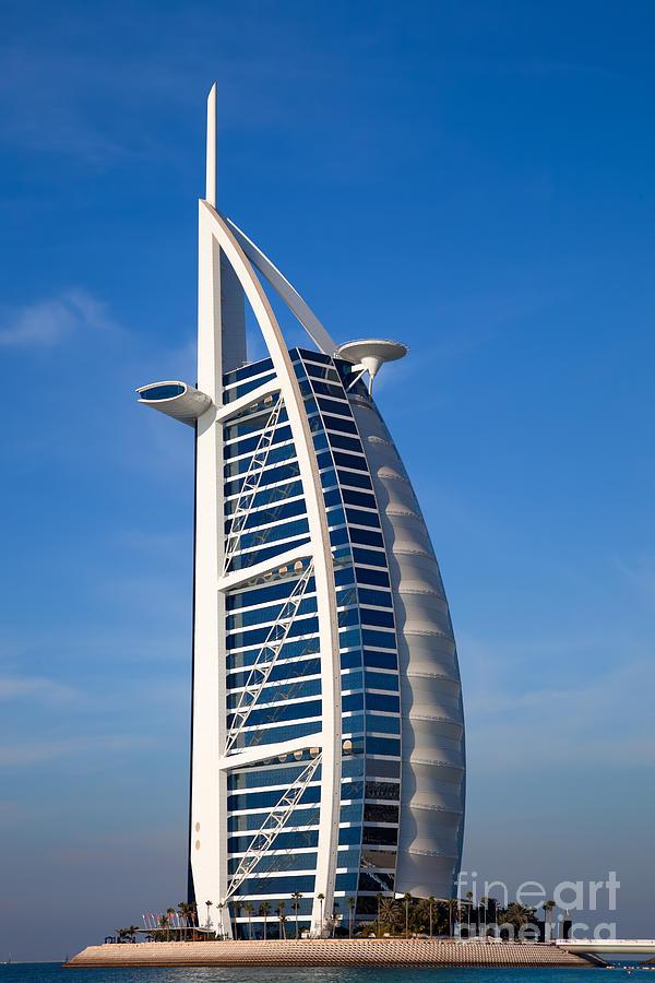Burj Al Arab Hotel Dubai By Fototrav Print
