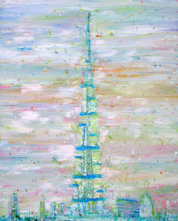 Burj Khalifa - Dubai Painting