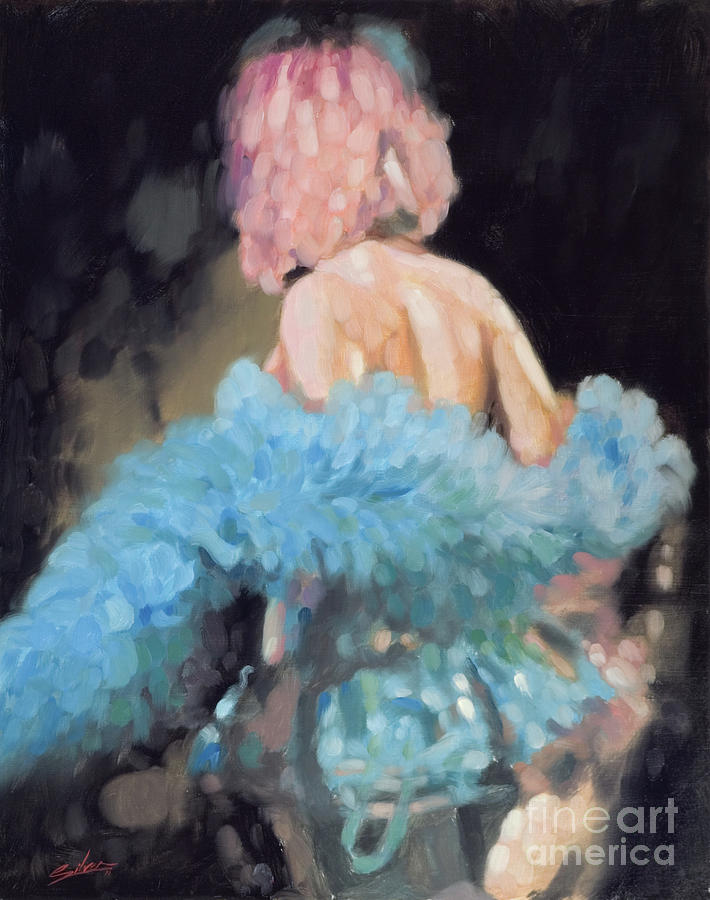 Burlesque I Painting