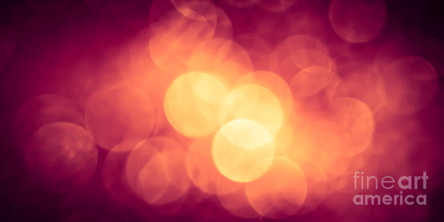 Abstract Photograph - Burning Bokeh by Jan Bickerton