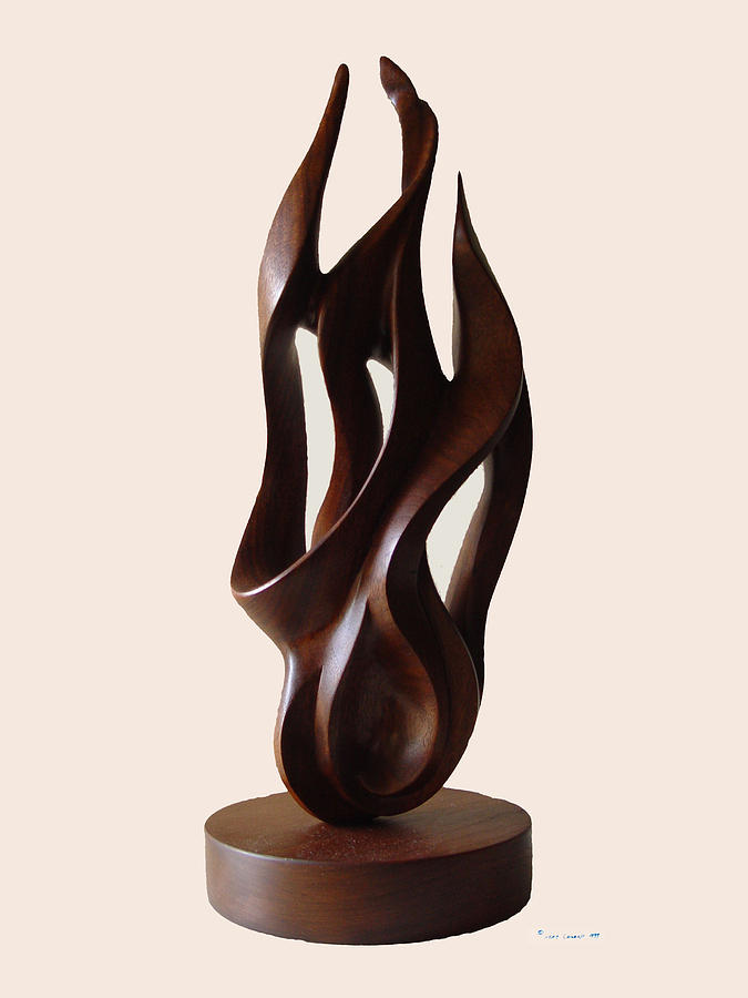 Burning Bush Sculpture