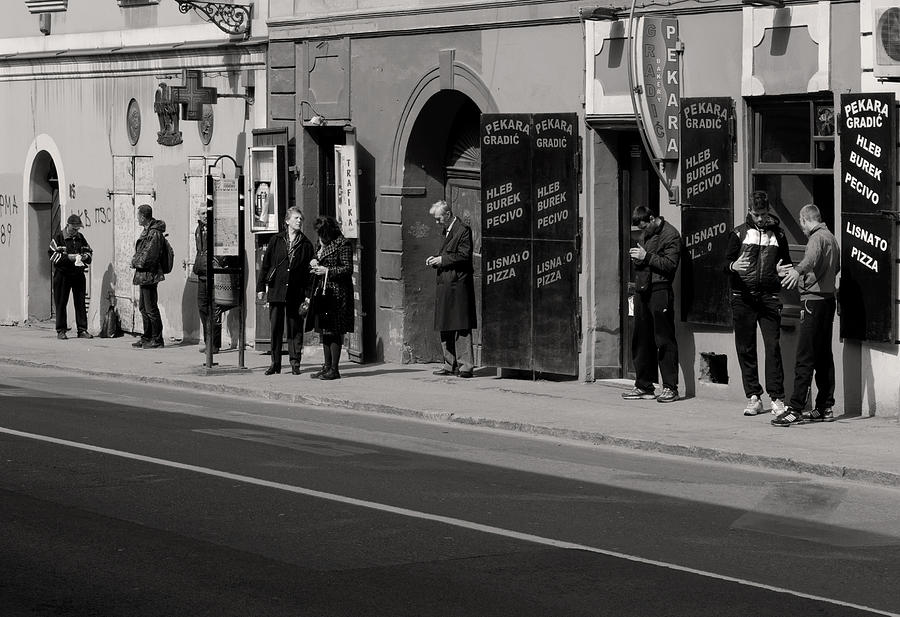 Bus Stop Photograph