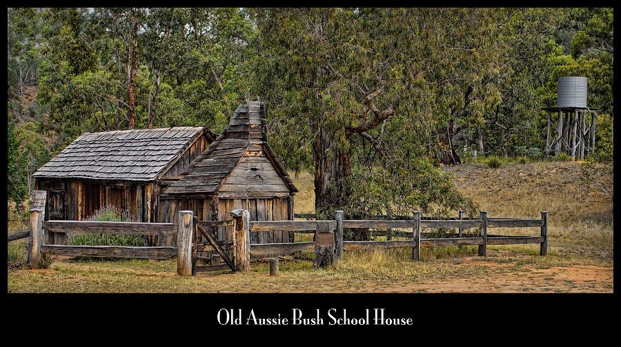 Bush School House Photograph