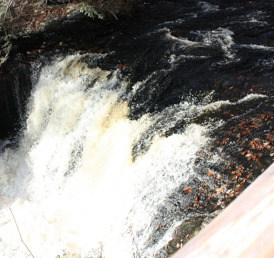 Bushkill Fall Rapids Photograph