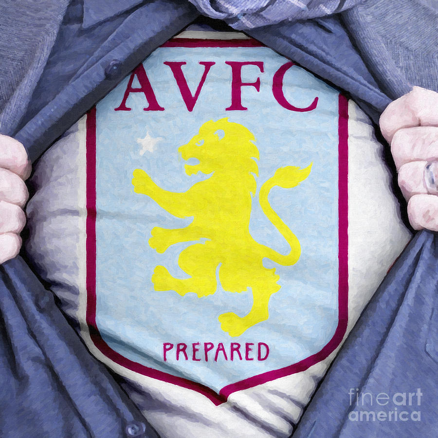 Businessman Aston Villa Fan Painting