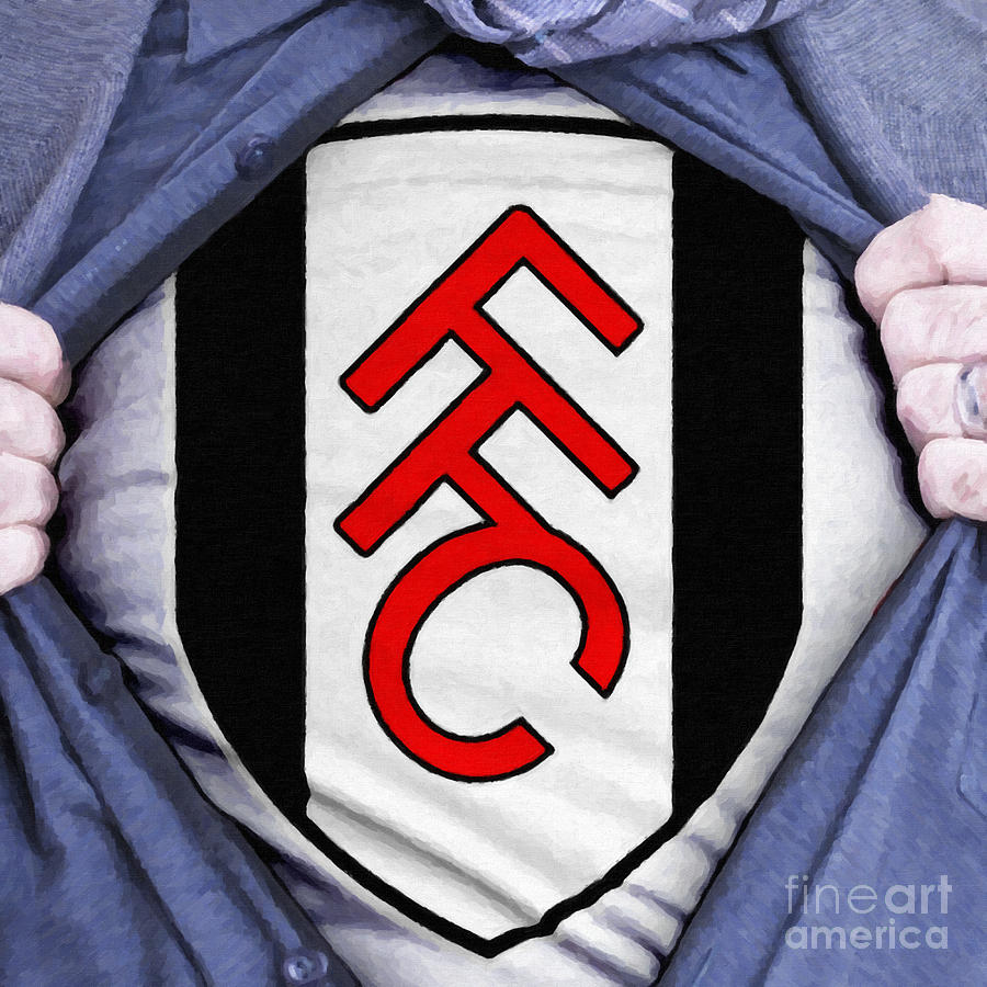 Businessman Fulham Fan Painting  - Businessman Fulham Fan Fine Art Print