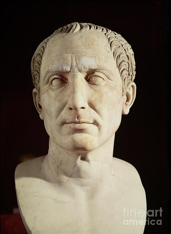 Bust Of Julius Caesar Sculpture