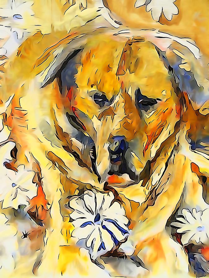 Buster Brown-digital Painting