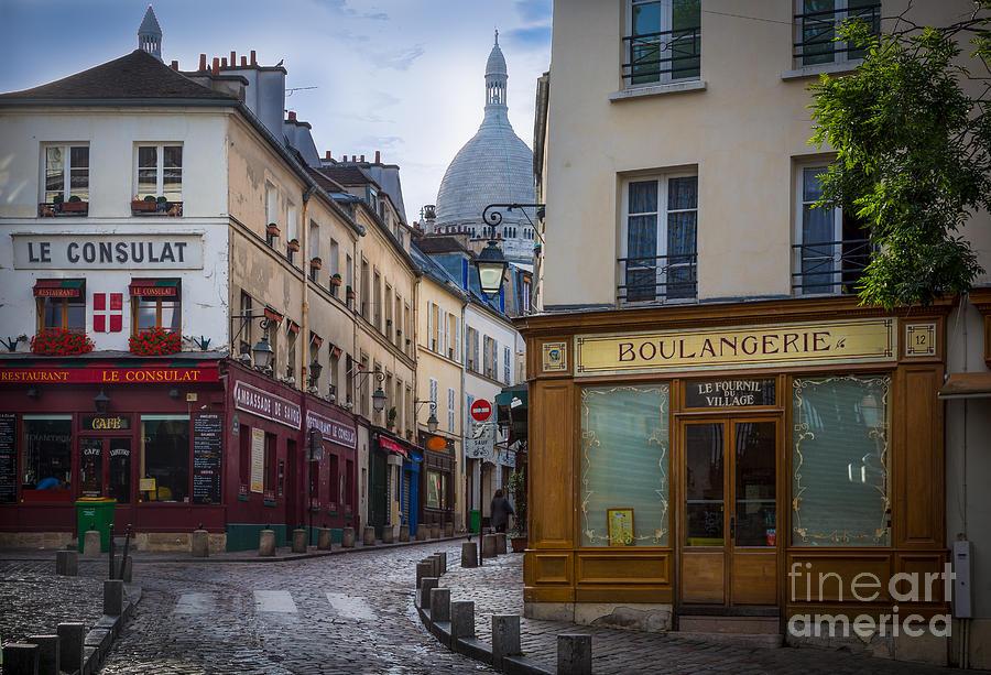 Butte De Montmartre Photograph