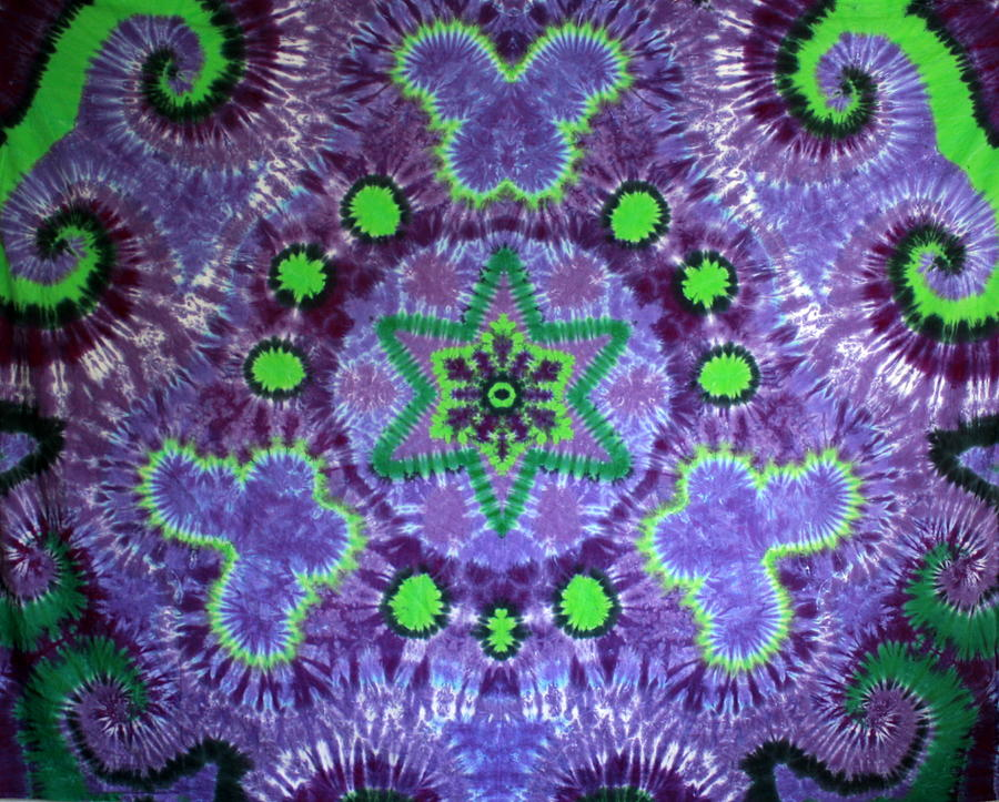Butterfly Mandala Tapestry - Textile