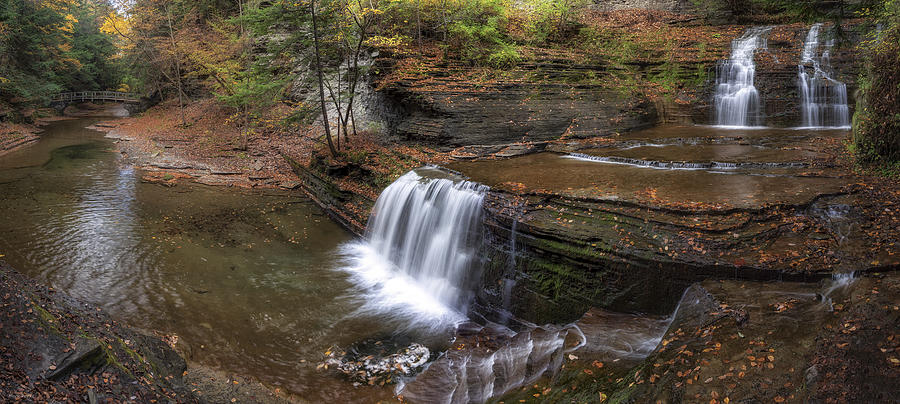 Buttermilk Creek Falls Photograph